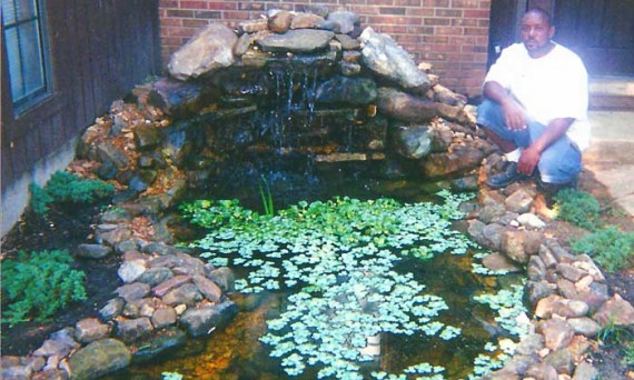 Fish ponds hackley 39 s general services for Koi pond builders near me